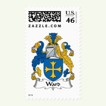 Ward Family Crest Stamps