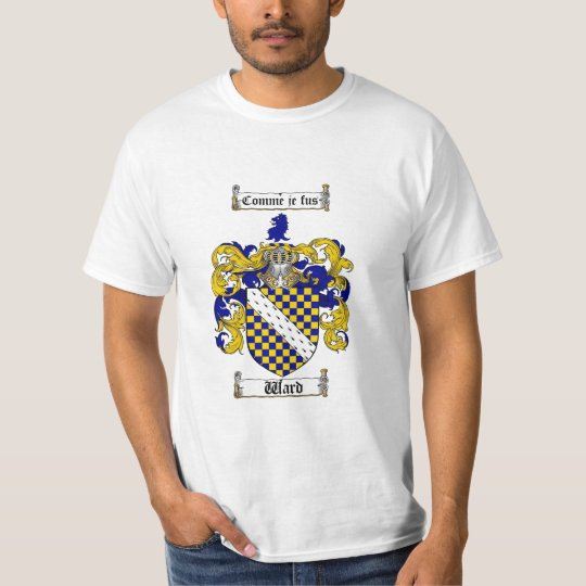Ward Family Crest - Ward Coat of Arms T-Shirt