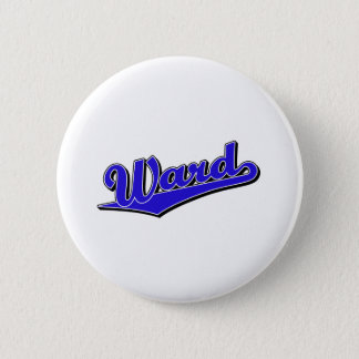 Ward in Blue Pinback Button