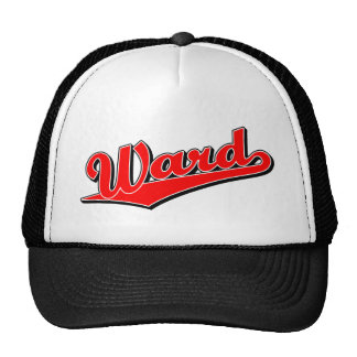 Ward in Red Mesh Hat