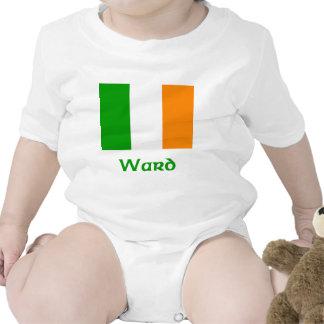 Ward Irish Flag Baby Bodysuit