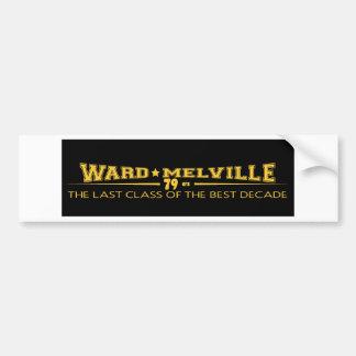ward melville bumper sticker car bumper sticker