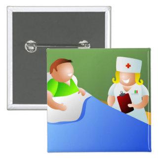 Ward Nurse Button