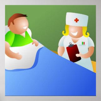 Ward Nurse Poster