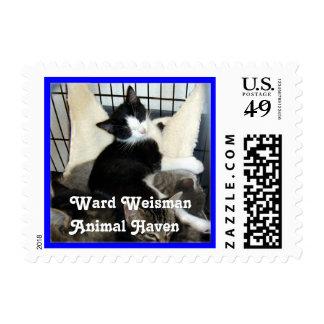 Ward Weisman Animal Haven Postage Stamp