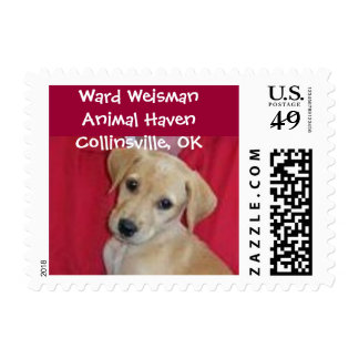 Ward Weisman Animal Haven Postage