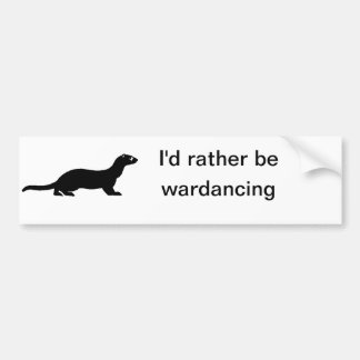 wardance sticker car bumper sticker