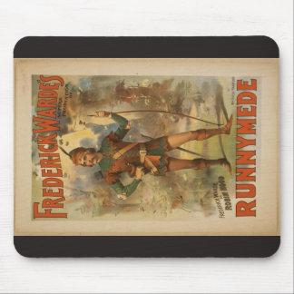 """Warde de Frederick, """"Runnyede"""", Th del vintage de  Tapete De Raton"""