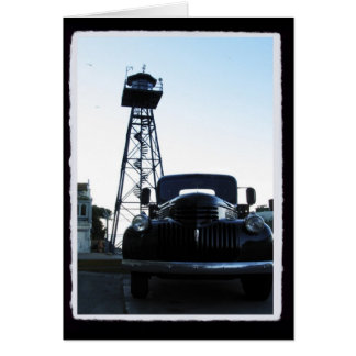 Warden's Truck Stationery Note Card