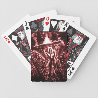 Warding Off Evil Bicycle Playing Cards