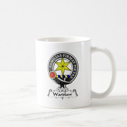 Wardlaw Clan Crest Coffee Mugs