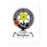 Wardlaw Clan Crest Postcards