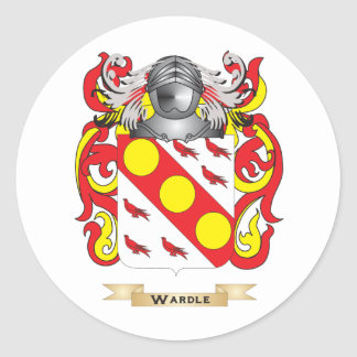 Wardle Family Crest (Coat of Arms) Stickers