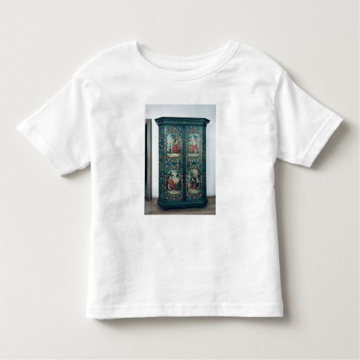 Wardrobe decorated with scenes of the four t-shirt