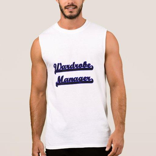 Wardrobe Manager Classic Job Design Sleeveless Shirts Tank Tops, Tanktops Shirts