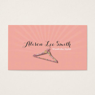 Wardrobe Stylist Business Cards & Templates | Zazzle