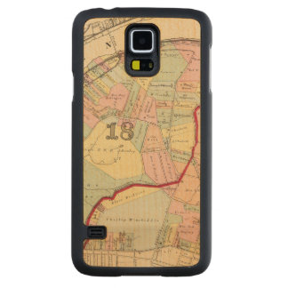 Wards 1819 of Pittsburgh, Pennsyvania Carved Maple Galaxy S5 Slim Case