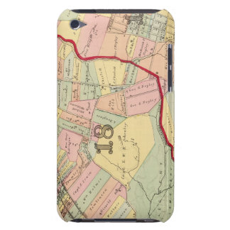 Wards 1819 of Pittsburgh, Pennsyvania iPod Touch Cases