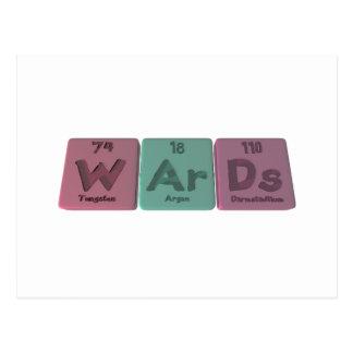 Wards-W-Ar-Ds-Tungsten-Argon-Darmstadtium.png Postcard