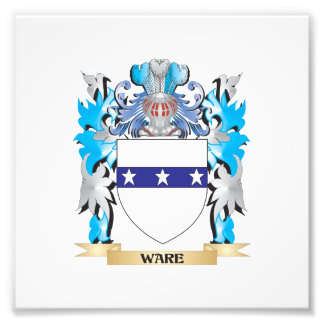 Ware Coat of Arms - Family Crest Photo Art