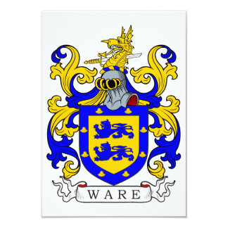 Ware Coat of Arms I Card
