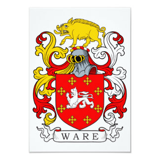 Ware Coat of Arms II Card