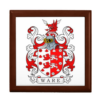 Ware Coat of Arms III Trinket Boxes