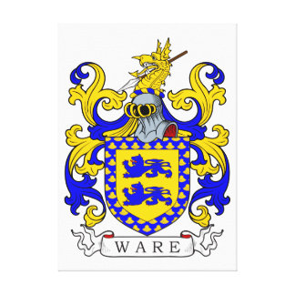 Ware Coat of Arms IV Canvas Print