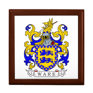 Ware Coat of Arms IV Keepsake Boxes