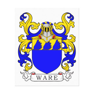 Ware Coat of Arms V Canvas Print