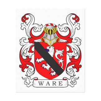 Ware Coat of Arms VI Canvas Print
