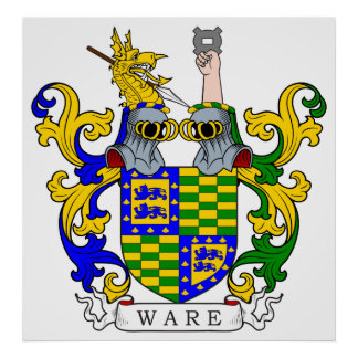Ware Coat of Arms VII Poster