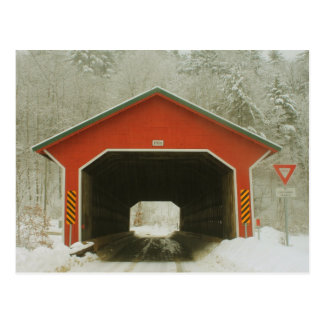 Ware Gilbertville Covered Bridge Portal Postcard