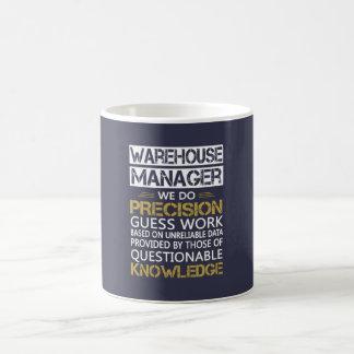 WAREHOUSE MANAGER COFFEE MUG