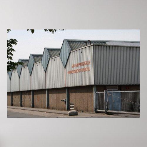Warehouse in Utrecht, Holland