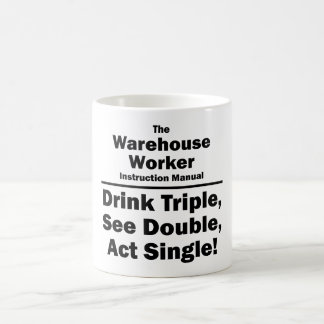warehouse worker coffee mug