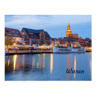 Waren Postcard