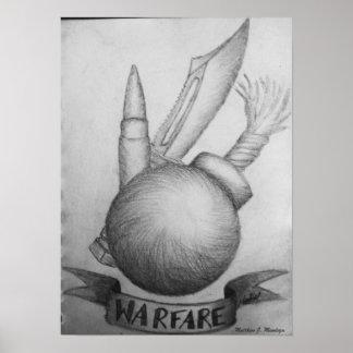 WARFARE POSTER
