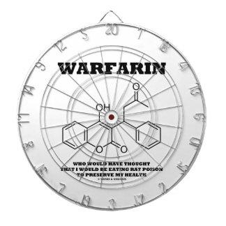 Warfarin Taking Rat Poison To Preserve My Health Dartboard With Darts