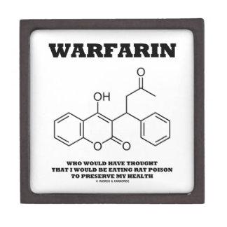 Warfarin Taking Rat Poison To Preserve My Health Premium Gift Box