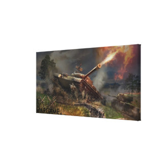 Wargame Premium Wrapped Canvas (Gloss)