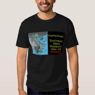 Wargames asiático suroriental camisas