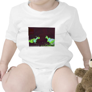 Warhol Goats Baby Creeper