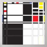 Warhol & Mondrian Posters