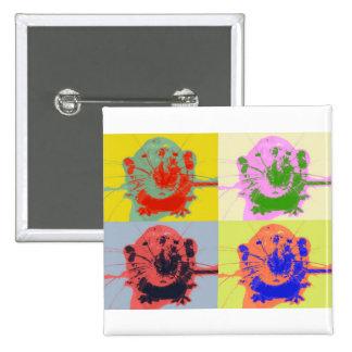 Warhol Rats Pins