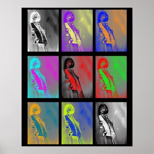 Warhol Scroll - Print