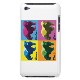 Warhol Style Honey Badger iPod touch case
