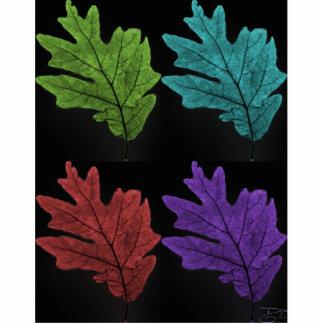 warholesque leaf cut out