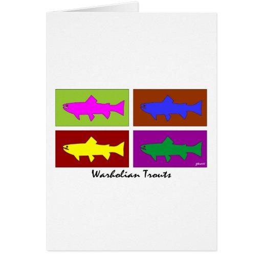 Warholian Trouts Cards