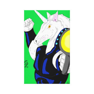 Warhorse canvas canvas print